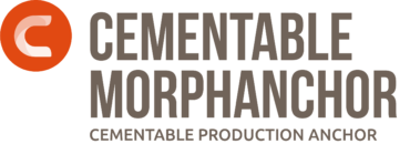 Cementable MorphAnchor: Cementable Production Anchor